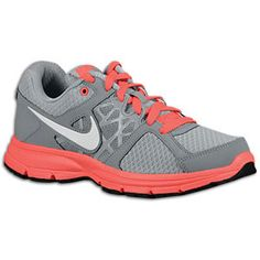 Nike Air Relentless 2 - Womens - Cool Grey/White/Laser Purple/Neo Turquoise. They will be mine. oh yes, they will be mine