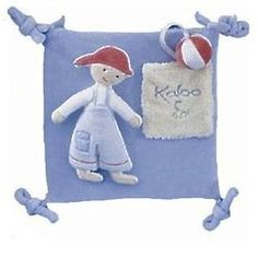 Blue Activity Squares Baby Toy