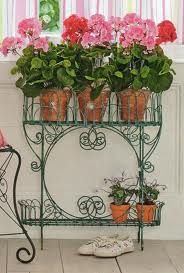 Victorian Wire Planter #countryliving #dreamporch