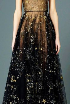 Valentino \\ Black with Stars