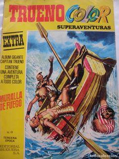 COMIC TRUENO COLOR SUPERAVENTURAS Nº8 TERCERA EPOCA 1978