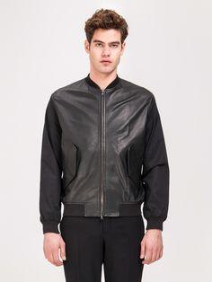 CARVEN , Deri Ceket #shopigo#shopigono17#menswear#ss15#readytowear