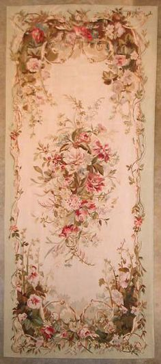fabulous floral carpet for the Shabby~but~Chic home