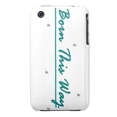 Born This Way iPhone 3 Case