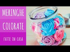 MERINGHE COLORATE FATTE IN CASA DA BENEDETTA - YouTube Biscotti Cookies, Troll Party, Christmas Cookies, Italian Recipes, Food And Drink, Cooking Recipes, Homemade, Birthday, Desserts