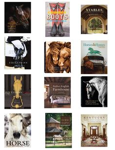 Chic equestrian coffee table books for your home