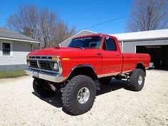 Ford : F-150 Ranger Standard Cab Pickup 2-Door 1977 ford 4 x 4 lifted 390 4 speed