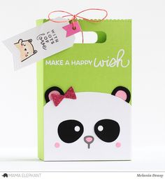Today I want to share my cute bags for Mama Elephant featuring Sweetest Greetings stamp set. This set is full of amazing and versa. Thank You Cards From Kids, Kids Cards, Mama Elephant Stamps, Elephant Gifts, Happy Wishes, Cute Cards, Cards Diy, Candy Cards, Animal Cards
