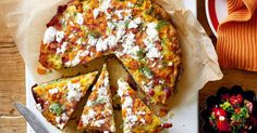 Follow our lead and we'll have you plating up this vibrant pumpkin and rice tart in half an hour.