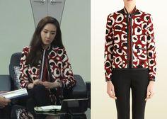 "Choi Ji-Woo 최지우 in ""Temptation"" Episode 6.  Gucci Leopard Print Jacket #Kdrama #Temptation 유혹 #ChoiJiWoo"