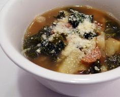 There's always thyme to cook...: Zuppa Toscana