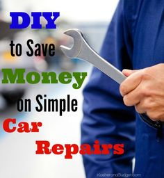 Save money on simple car repairs by learning how to DIY. From changing light bulbs and wiper blades to air filters and tires, it's not difficult once you learn how!