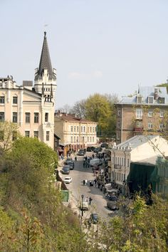 Kyiv. Андріївський узвіз