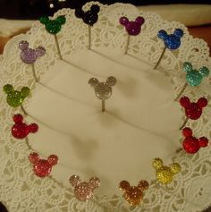 Hide Mouse Ears in your  Bouquets for Disney themed by hairswirls1, £13.52 etsy.com