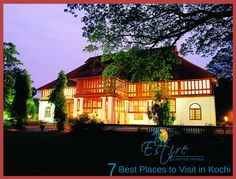 Explore the best places and activities of Kochi, Kerala. Visit http://estireholidays.com Like our official Facebook Page https://www.facebook.com/estireholidays/
