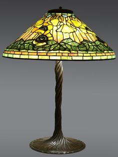 Tiffany Studios Leaded Glass Lamp