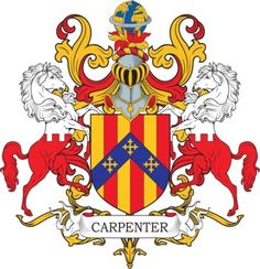 Carpenter Family Crest and Coat of Arms