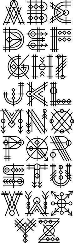90 beautiful typography alphabet designs (part www. - 90 beautiful typography alphabet designs (part www. Alphabet Design, Font Alphabet, Letter Designs, Diy Tattoo, Tattoo Fonts, Typographic Tattoo, Tattoo Ideas, Tattoo Designs, Calligraphy Letters