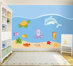 Wall decals kids Wall decals Wall stickers  di labandadelriccio