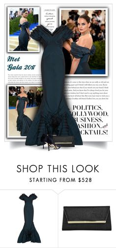 """Get the look: Met Gala 2017 - Katie Holmes"" by bliznec-anna ❤ liked on Polyvore featuring GALA, Peace and Love by Calao, Zac Posen, Jimmy Choo, MetGala, jimmychoo, ZacPosen, katieholmes and polyvorefashion"