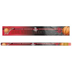 Houston Rockets Pencil 6 Pack