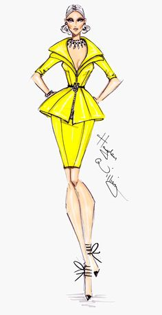 Hayden Williams Haute Couture Nini Nguyen AKA 'Nini Style' by Hayden Williams Hayden Williams 2013 New Year Couture 2013 by Hayden Williams Jet Set Glamour by Hayden Williams… Hayden Williams, Fashion Design Sketchbook, Fashion Design Drawings, Fashion Sketches, Fashion Drawing Dresses, Fashion Illustration Dresses, Fashion Illustrations, Love Fashion, Fashion Art
