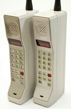 Cellular phones - came out during my last few years in Texas - around 1990.  Co-worker had one!
