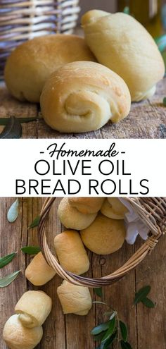 Homemade Olive Oil Bread Rolls Nothing like a Yeast Bread, especially these delicious soft Olive Oil Bread Rolls. Easy Homemade bread never tasted so good. This is a great dinner side dish anytime of the year! Bread Machine Recipes, Easy Bread Recipes, Baking Recipes, Dessert Recipes, Dinner Side Dishes, Dinner Sides, Bread Baking, Yeast Bread, Olive Oil Bread