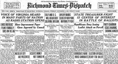 RTD Archive Prints. For over 165 years, the Richmond Times-Dispatch has captured moments of Richmond, Virginian and American history to preserve for future generations. The online RTD Archive allows you to search our photo database, access archives from 1903 to the present day, and purchase archive photos – timeless gifts for the history enthusiasts on your list.
