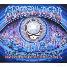 "Winterland 1977 Giclee Print by Emek (23"" x 24"") | Grateful Dead"