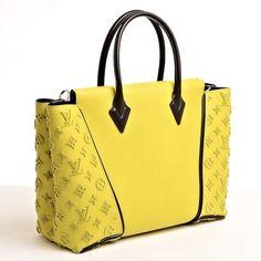 Louis Vuitton Monogram Velours Pistache Pm Yellow Bag - Satchel $6,250