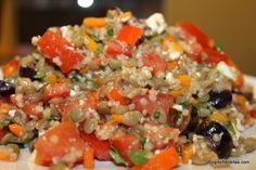 Quinoa & Lentil Salad by Gabriela Dedolph