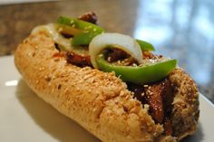Korean BBQ Subs #vegan