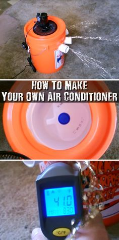 How To Make Your Own Air Conditioner - During the warm weather months, I thought it would be a great idea to share with you a video on how to make a DIY air conditioner. Air conditioning is one of those things that you technically don't need to survive, but it's still nice to have. If you live in a hot state like Florida, Arizona or Nevada, then this might even be potentially dangerous. Image Credit: desertsun02 via youtube