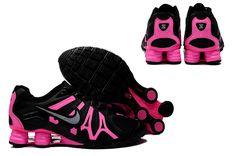 Nike Shox Turbo+13 Womens Shoe Black Pink