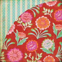 BasicGrey - Indie Bloom Collection - 12 x 12 Double Sided Paper - Tarantella at Scrapbook.com $0.93