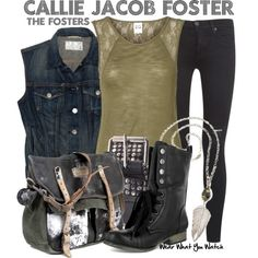 Inspired by Maia Mitchell as Callie Jacob Foster on The Fosters.