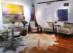 Rustic Luxe Vignette By Romeo Baglio Design Featured Artists Susan Morosky Julia