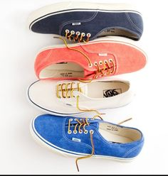 Vans for j.crew! How cute are these?