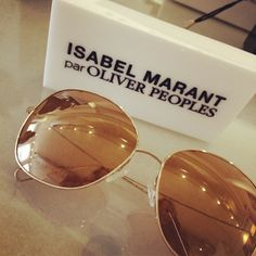 1abd8ca8165 OP x Isabel Marant via  Nic Gillman Gillman Screws Ray Ban Glasses