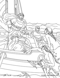 Greek Myths Coloring Pages