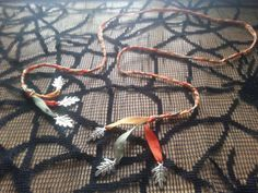 """HANDFASTING CORD: """"Heart of Oak"""" (Pagan Wiccan Druid witch Wicca wedding medieval Renaissance Celtic World Tree nature)"""
