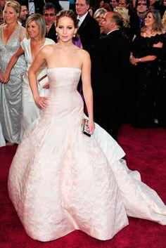 Jennifer Lawrence by Dior - Oscar 2013