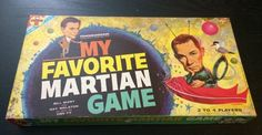 Vintage 1963 Transogram My Favorite Martian Board Game Bill Bixby Ex+ CBS TV