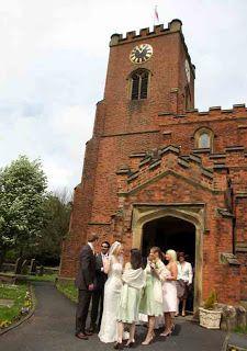 Wonderful Wild Flower Wedding Day at St Cuthbert's Church, Lytham  Sassi Holford gown Daisy.