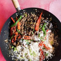 Quick and Easy Beef & Black Bean Stir Fry Recipe Minced Beef Recipes, Mince Recipes, Stir Fry Recipes, Paleo Recipes, Cooking Recipes, Cooking Tips, Quick Healthy Meals, Healthy Family Meals, Healthy Cooking