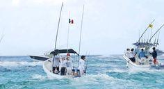 Pescando en el Caribe Mexicano ..... Cancun