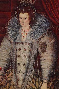 Elizabeth I - The Parham Portrait by an Unknown Artist, c.1600. (Parham Park)