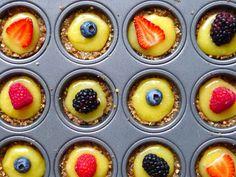 No-Bake Gluten-Free Fruit Pie Minis | Healthy Eats – Food Network Healthy Living Blog