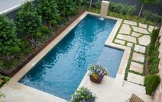 Up Your Small Backyard With A Swimming Pool – 19 Design Ideas Spruce Up Your Small Backyard With A Swimming Pool – 19 Design Ideas. This is nice.Spruce Up Your Small Backyard With A Swimming Pool – 19 Design Ideas. This is nice. Small Swimming Pools, Small Backyard Pools, Backyard Pool Designs, Small Pools, Swimming Pool Designs, Backyard Landscaping, Backyard Ideas, Small Backyards, Small Yards With Pools